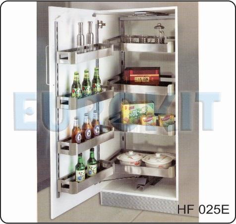 Tủ kho cánh mở 4 tầng inox hộp - Mã SP : HF - 025E