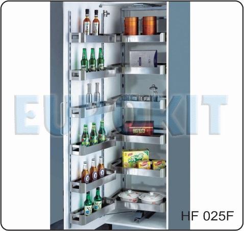 Tủ kho cánh mở 4 tầng inox hộp - Mã SP : HF - 025F