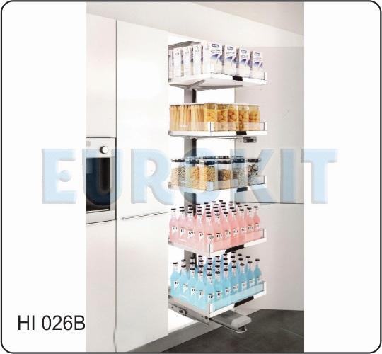 Tủ kho 5 tầng mở đẩy tự động - Mã SP : HI 026B
