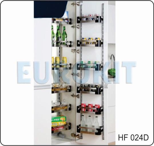 Tủ kho 6 tầng cánh mở inox hộp - Mã SP : HF 024D
